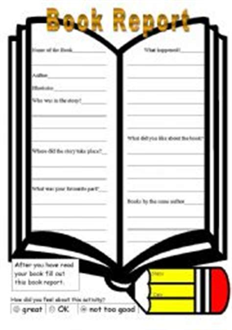 Book Report Format 6-7 - SchoolNotes
